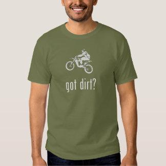 Dirtbike conseguido de la bici de la suciedad remeras