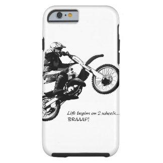 Dirtbike Funda Para iPhone 6 Tough