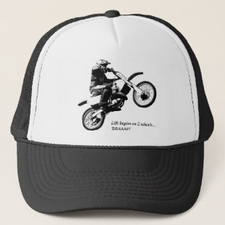 Dirtbike Trucker Hat