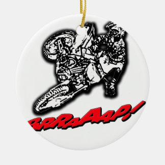 DirtbikeBrraaap.png Ceramic Ornament