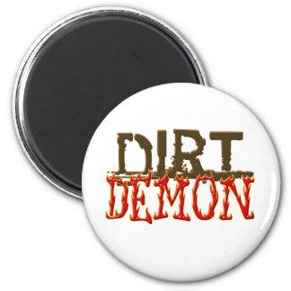 DirtDemon1 2 Inch Round Magnet