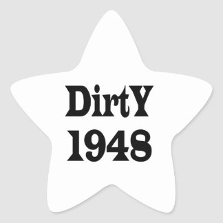 Dirty 1948 stickers