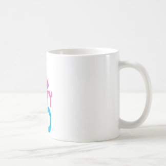 Dirty 30 with cute birthday hat coffee mug