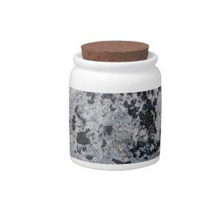 Dirty 3  Decorative Ceramic Widemouth Jar With Lid Candy Jars