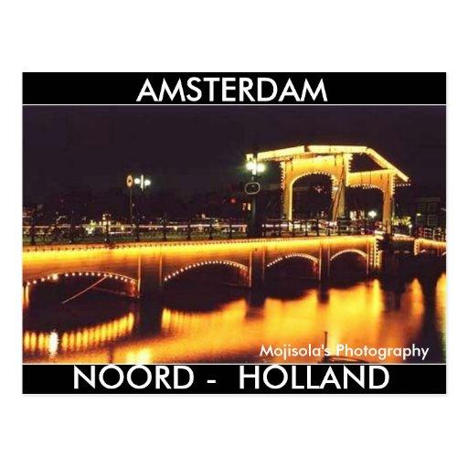 Dirty 3Tall Boxes Postcard Amsterdam