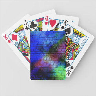 dirty-408147 ABSTRACT COLORFUL GRAFFITI RANDOM SPR Bicycle Playing Cards