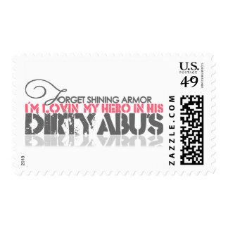 Dirty ABU's Stamp