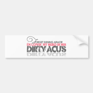 Dirty ACU's Bumper Sticker