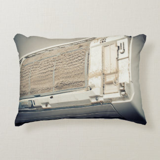 Dirty air condition accent pillow