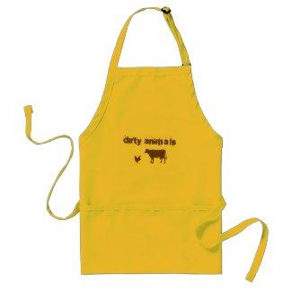 Dirty Animals apron