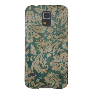 Dirty antique damask wallpaper galaxy s5 cover