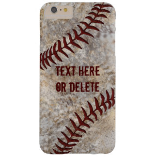Dirty Baseball iPhone Cases, iPhone 6S, 6 shown Barely There iPhone 6 Plus Case