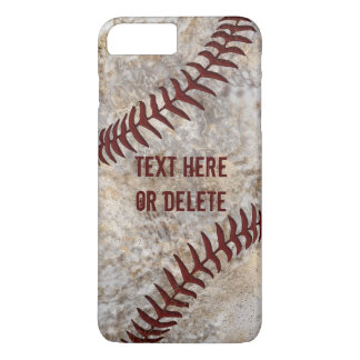 Dirty Baseball iPhone Cases, iPhone 7, 6 shown iPhone 7 Plus Case