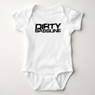 Dirty Bassline Dubstep Baby Bodysuit
