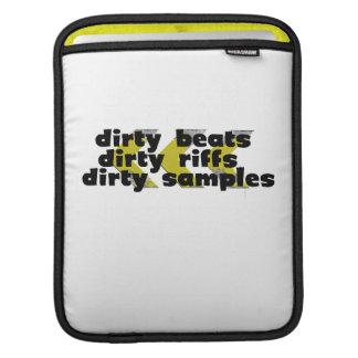 Dirty Beats black iPad Sleeve