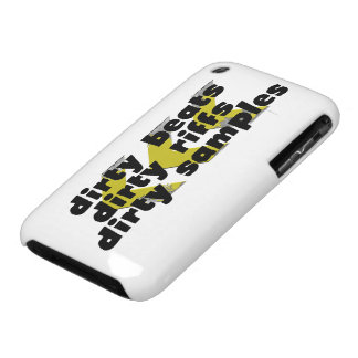 Dirty Beats, Dirty Riffs, Dirty Samples Case-Mate iPhone 3 Case