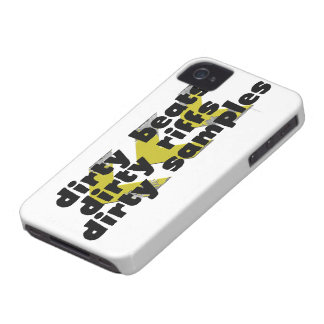 Dirty Beats, Dirty Riffs, Dirty Samples Case-Mate iPhone 4 Case