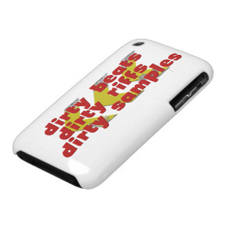 Dirty Beats, Dirty Riffs, Dirty Samples iPhone 3 Case-Mate Case