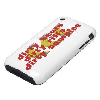 Dirty Beats, Dirty Riffs, Dirty Samples iPhone 3 Tough Case