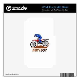 Dirty Boy iPod Touch 4G Skin