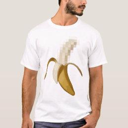 Dirty Censored Peeled Banana T-Shirt