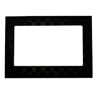 Dirty Check Pattern Magnetic Photo Frame