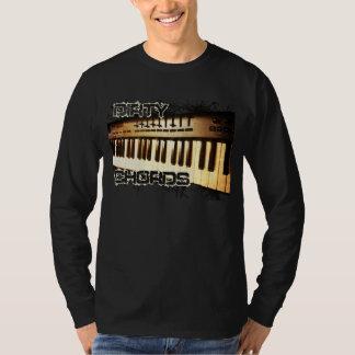 Dirty Chords Piano & Keyboards T Shirt