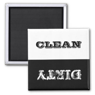 Dirty Clean Customized Dishwasher Magnet