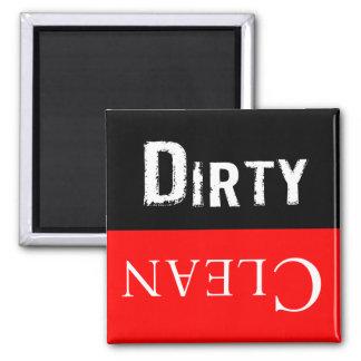 Dirty Clean Dishwaser Magnet