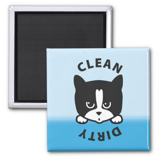 Dirty Clean Dishwasher Magnet - Cute