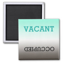 Dirty Clean, Vacant Occupied Dishwasher Magnet