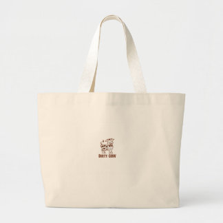 Dirty COW Large Tote Bag