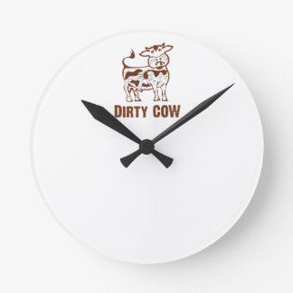 Dirty COW Round Clock
