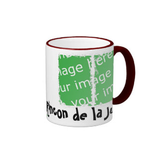 Dirty cup of the bell founder of 3 boxes ringer coffee mug