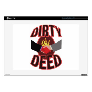 Dirty Deed Skins For Laptops