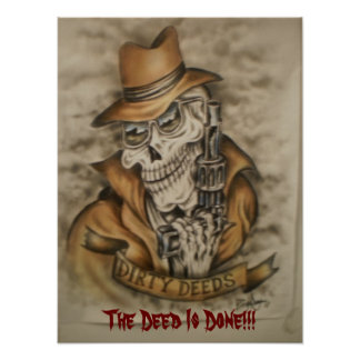 Dirty Deeds!!! Posters