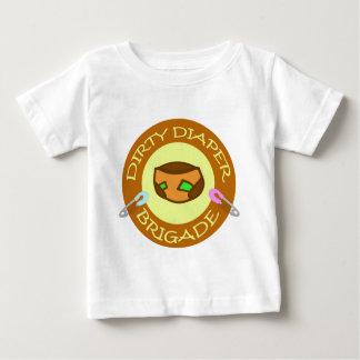dirty diaper brigade baby T-Shirt