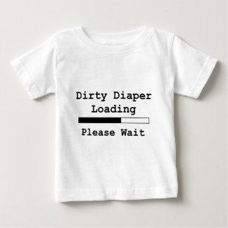 Dirty Diaper Loading... Please Wait Shirt