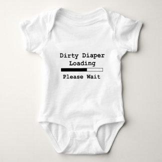 Dirty Diaper Loading... Please Wait T-shirt