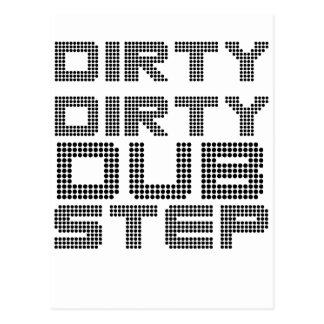Dirty Dirty Dubstep Postcard