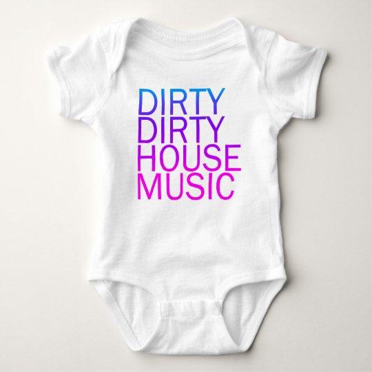 Dirty Dirty House Music Baby Bodysuit