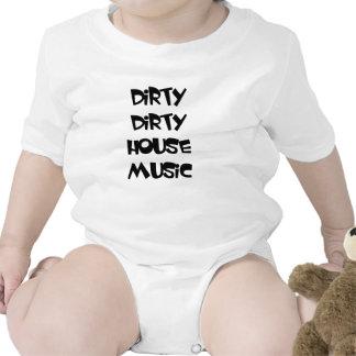 DIRTY DIRTY HOUSE MUSIC baby one-peice edm dj Creeper