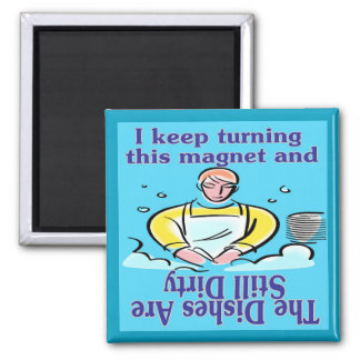 Dirty Dishes Magnet