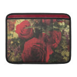 Dirty Distressed & Grungy Red Roses Bouquet MacBook Air Sleeve