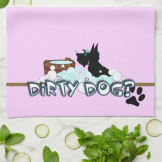 Dirty Dog Hand Towel