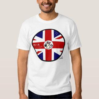 Dirty Dog Streetwear  Aussie Japanese Logo (Large) T-Shirt