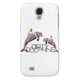 Dirty Dolphin Samsung Galaxy S4 Cases