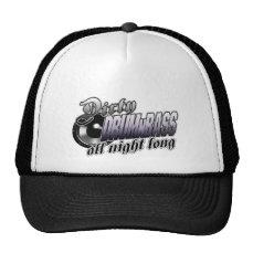DIRTY DRUMnBASS all night long Trucker Hat