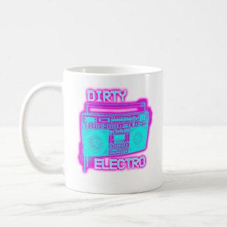 DIRTY ELECTRO dance club DJ girls an guys neon Coffee Mug