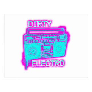 DIRTY ELECTRO POSTCARD